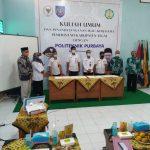 Isi Kuliah Umum di Poltek Purbaya Tegal, Fikri: Kampus Vokasi Harus Hasilkan Milenial Inovatif